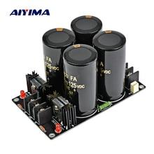 AIYIMA 120A Verstärker Rectifier Filter Versorgung Power Board High Power Schottky Rectifier Filter Power Supply Board 10000 uf 125 V