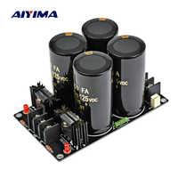 AIYIMA 120A amplificador rectificador filtro fuente de alimentación Placa de poder alta potencia Schottky rectificador filtro Placa de alimentación 10000uf 125V