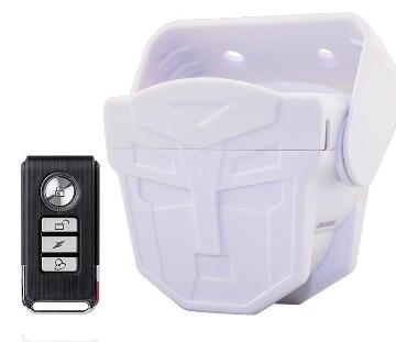 цена на New Intelligent PIR Sensor Alarm Metal Remote Control Home Security Standalone PIR motion Sensor Alarm System Chime