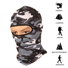 1Pcs Camouflage Balaclava Ninja Hood Military Camo Balaclava Tactical Balaclava Ski Mask Motorcycle Face Mask for Outdoor цена