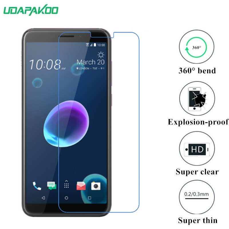 soft film for HTC Desire 12 Plus S S510e G12 8S A620 G17 EVO 3D 8X C620E Butterfly S Nano Explosion-proof glass Screen Protector