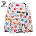 XIAOYOUYU Cute Cartoon Children Casual Soft Sleepwear Size 110-140 cm Good Quality Comfortable Boys & Girls Warm Pajama Sets