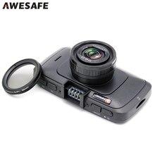Ambarella A7LA70 Full HD 1296P 60FPS Car Camera DVR Recorder Black Box 6G Lens with GPS Tracker Speedcam Dash Cam