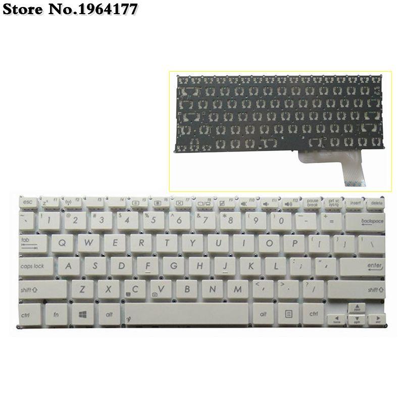 Novo teclado do portátil DOS EUA para Asus VivoBook S200 S200E Q200 Q200E X200 X201 X201E MP-12K13US-920W x202e EUA layout Inglês