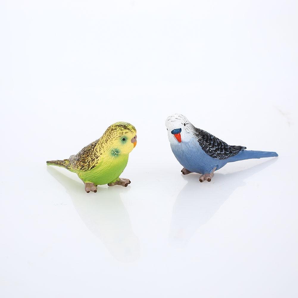 Multicolor Parrot Model Parrot Animal Model Hobby Entertainment Mini Parrot Cute Small