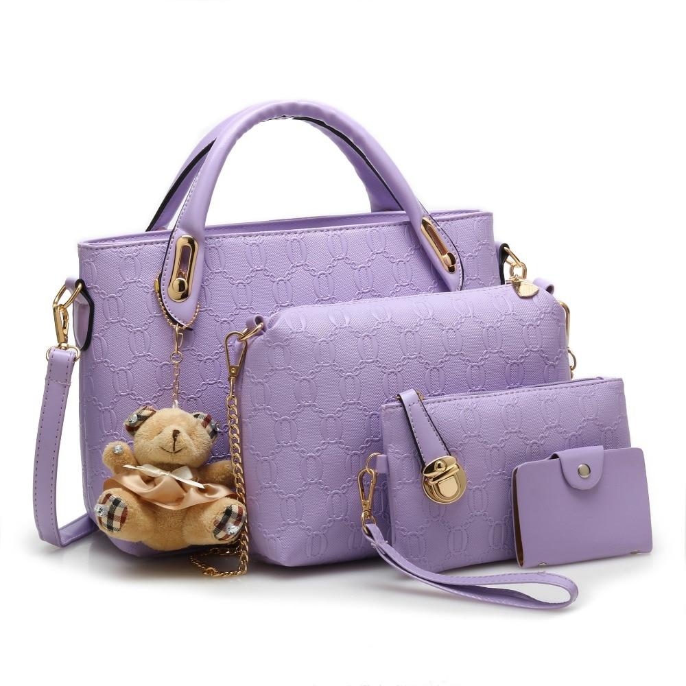ახალი მოდის Crocodile Handbags PU - ჩანთები - ფოტო 3