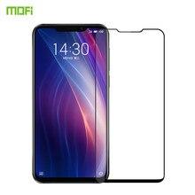 Meizu X8 стекло закаленное 6,15 дюймов MOFi Оригинал Meizu X8 экран протектор полное покрытие Защитный пленка для Meizu X8 закаленное стекло