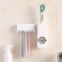 Multi-function Toothpaste Bathroom Squeezing Convenient Appliances Automatic Toothbrush Holder Practical Toothpaste Squeezer