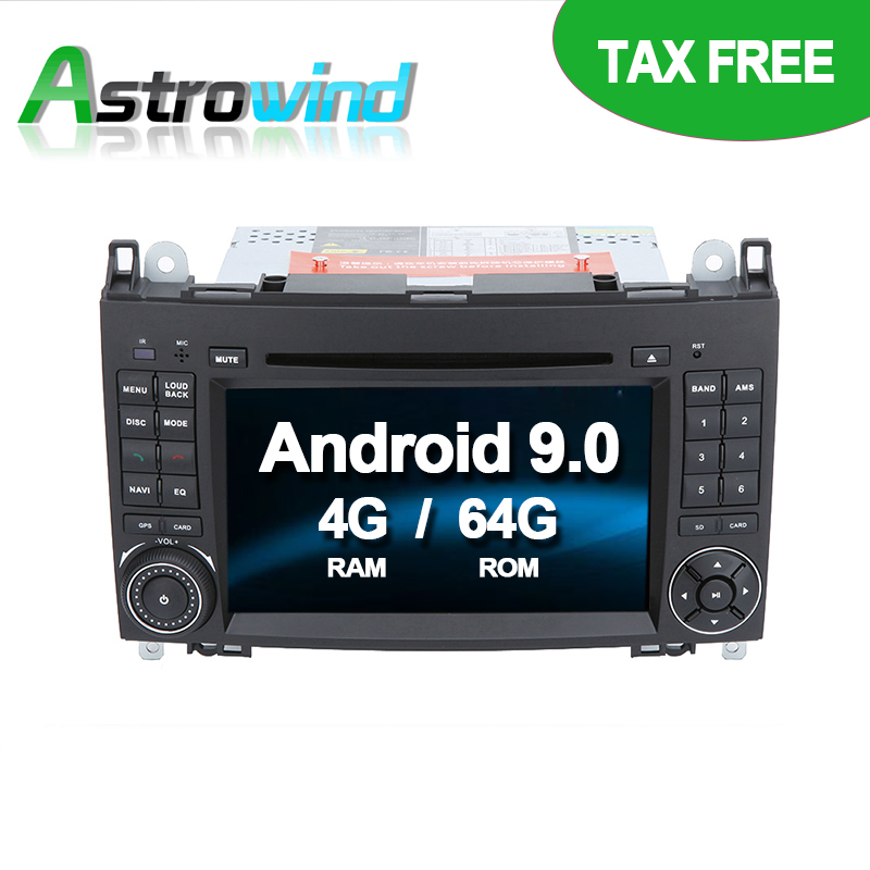 64G ROM No Tax Android 9.0 Car DVD Player GPS Navigation for Mercedes-Benz A Class W169 for Mercedes B Class W245 Viano64G ROM No Tax Android 9.0 Car DVD Player GPS Navigation for Mercedes-Benz A Class W169 for Mercedes B Class W245 Viano