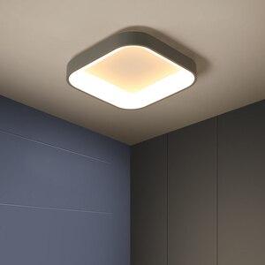 Image 4 - Plafonnier moderne en métal et acrylique, sortie dusine, éclairage décoratif de plafond, luminaire décoratif de plafond, idéal pour le salon, la chambre à coucher ou la maison, LED