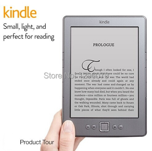 Promotion!!!Used amazon kindle 4 e book reader small, light