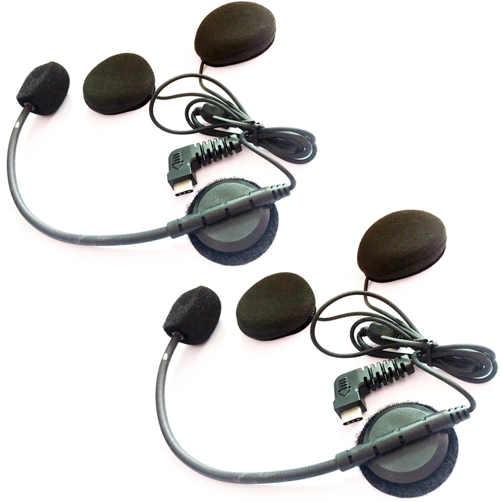 Mini USB, Microphone Doux Mini USB Doux Microphone et /Écouteur Accessoire de Remplacement pour BT-S2 et BT-S3 Intercom Moto