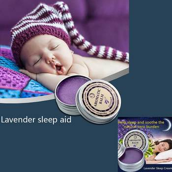 Lavender Aromatic Balm Insomnia Thailand Help Sleep Soothe Relax Aromatic Balm Fragrances & Deodorants