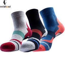 10pieces 5pairs 1lot brand Sport socks men cotton breathable compression Socks Mountain climbing hiking meias Fit
