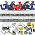 Complete Tattoo Kit 5 Machine GunsEquipment 40 Tattoo Inks Power