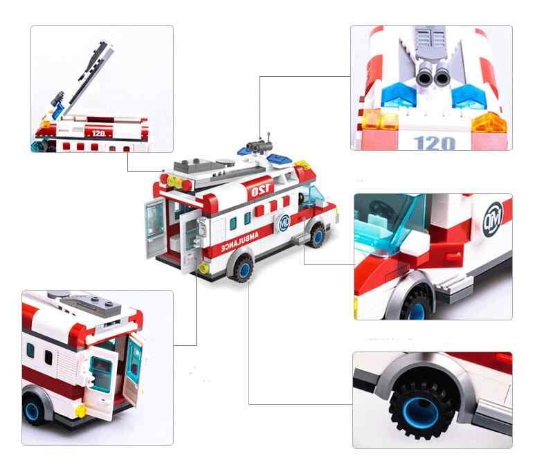 Строительные блоки, совместимые с Lego enlamten E1118 328 P Модели Конструкторы для строительства игрушки хобби для Chlidren