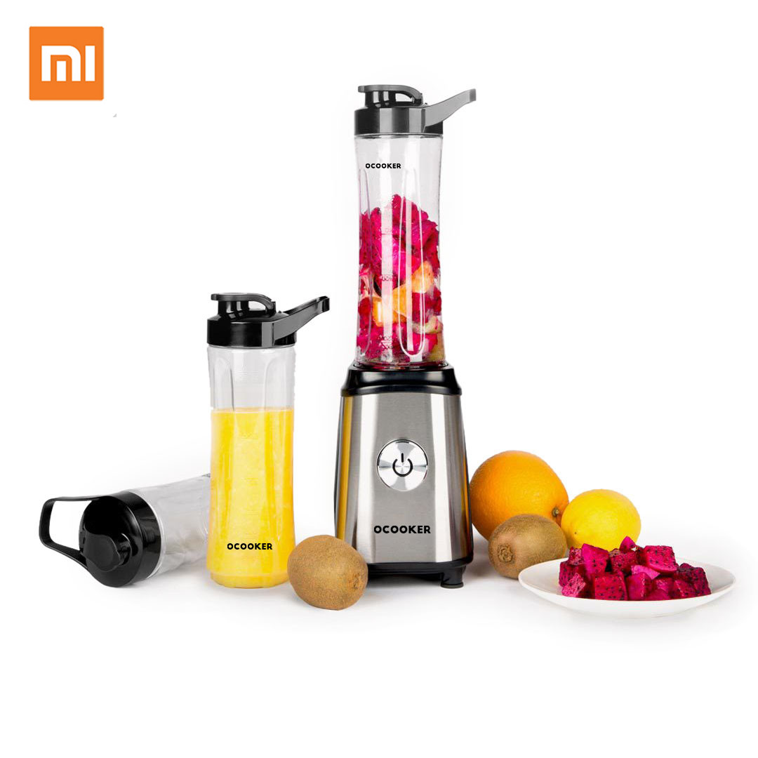 Xiaomi Mijia QCOOKER Portable Electric Mixer Professional Smoothies Juicer Fruit Vegetable Food Processor With 2 CupsXiaomi Mijia QCOOKER Portable Electric Mixer Professional Smoothies Juicer Fruit Vegetable Food Processor With 2 Cups