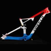 Costelo 29er Full Suspension Carbon Rahmen Carbon MTB Rahmen 29er Mountainbike Carbon Rahmen 142*12mm Steckachse 165*38mm Reise