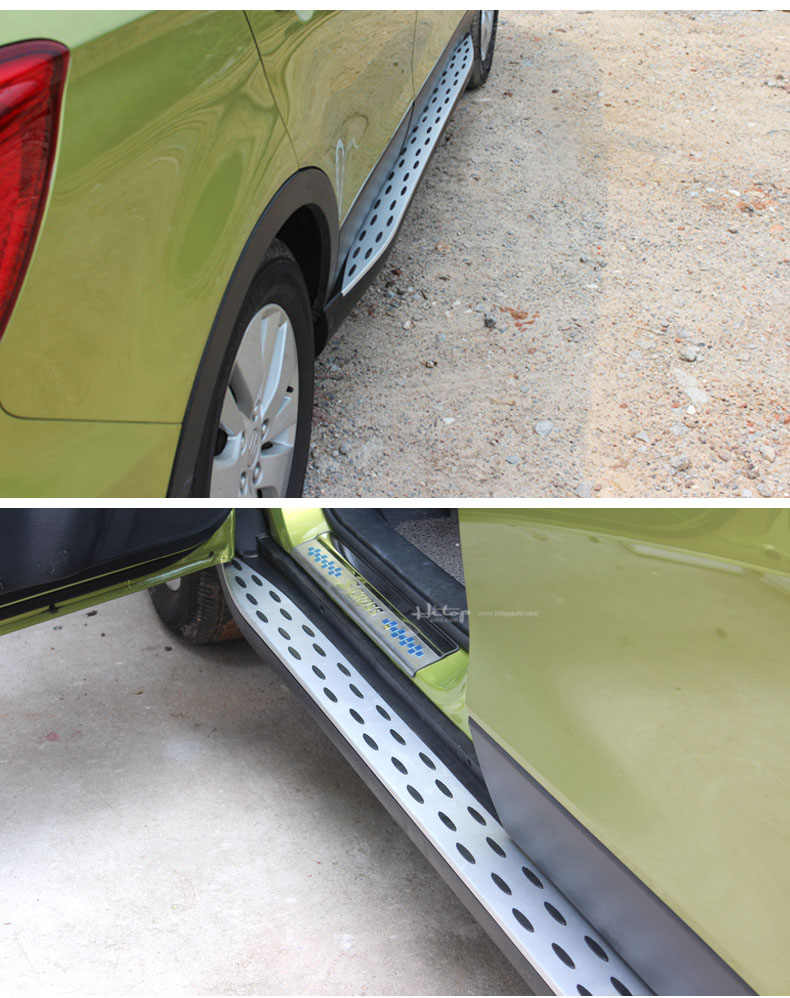 Detail Feedback Questions about BM running board side step