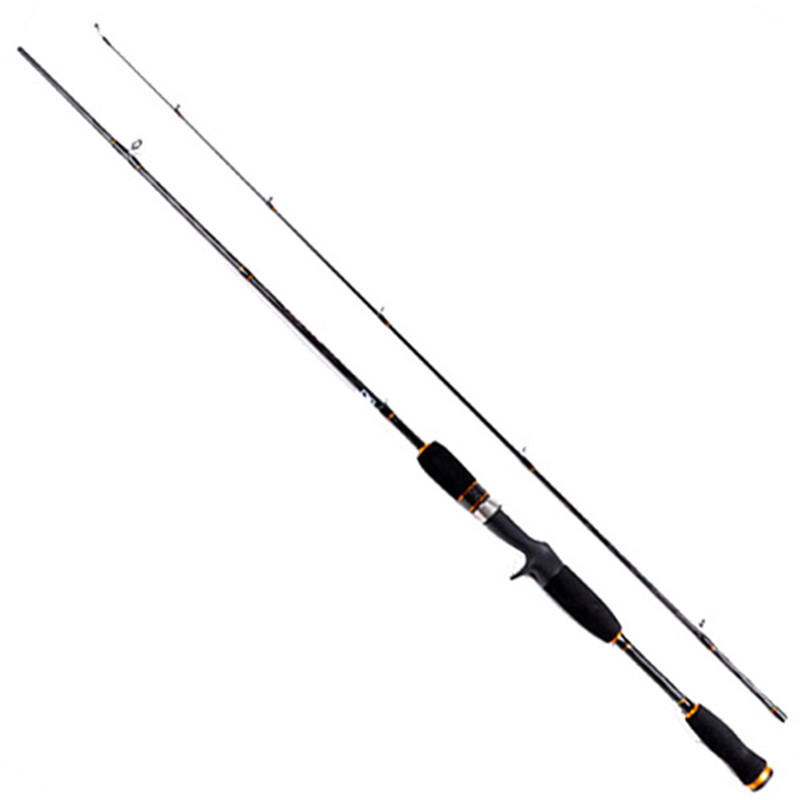 Leo Casting Rod 1.65/1.80/1.98/2.10m Lure Rod Carbon Fiber 2 Sections Pesca Fishing Tackle Lure 1/8-3/8 Bait Casting Fishing Rod
