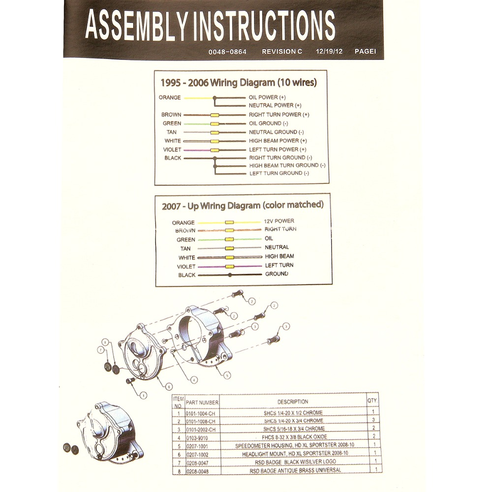 2009 Sportster Wiring Diagram | Wiring Diagram on