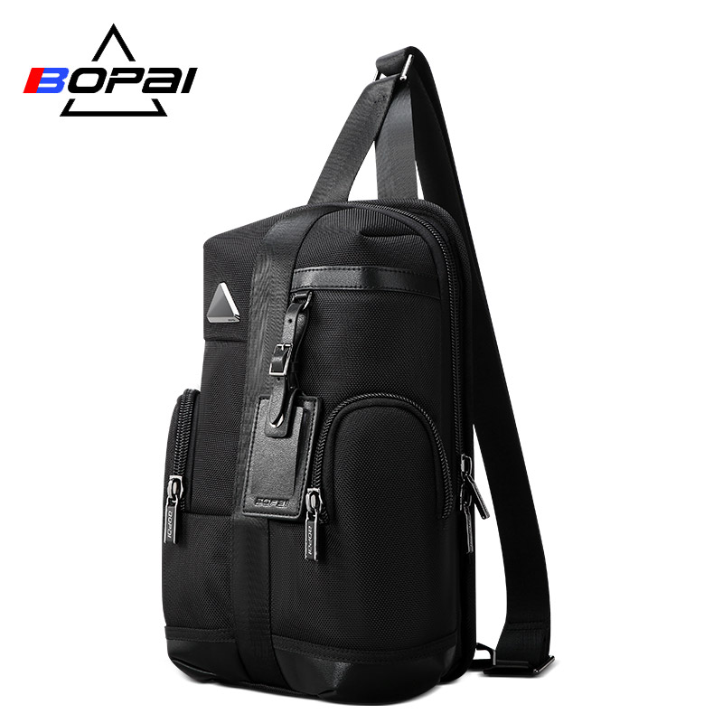 Bopai New Waterproof Backpack Travel Backpack For Men Large Capacity Bagpack Professional Fashion ipad Bag