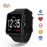 696 Men Women Smart Watch Fitness Tracker Clock Heart Rate Pressure Monitor Smartwatch PK DZ09 For XIAOMI HUAMI IOS Android