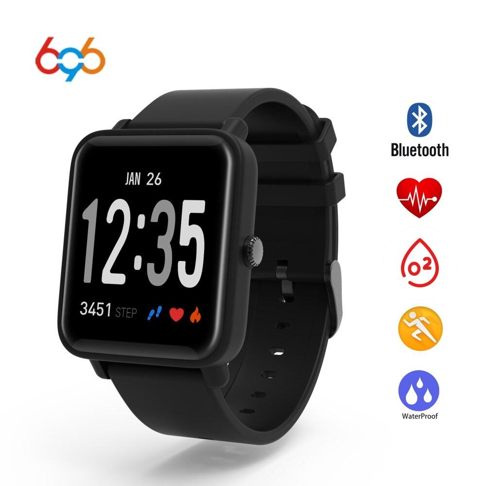 696 männer Frauen Smart Uhr Fitness Tracker Uhr Herz Rate Druck Monitor Smartwatch PK DZ09 Für XIAOMI HUAMI IOS Android