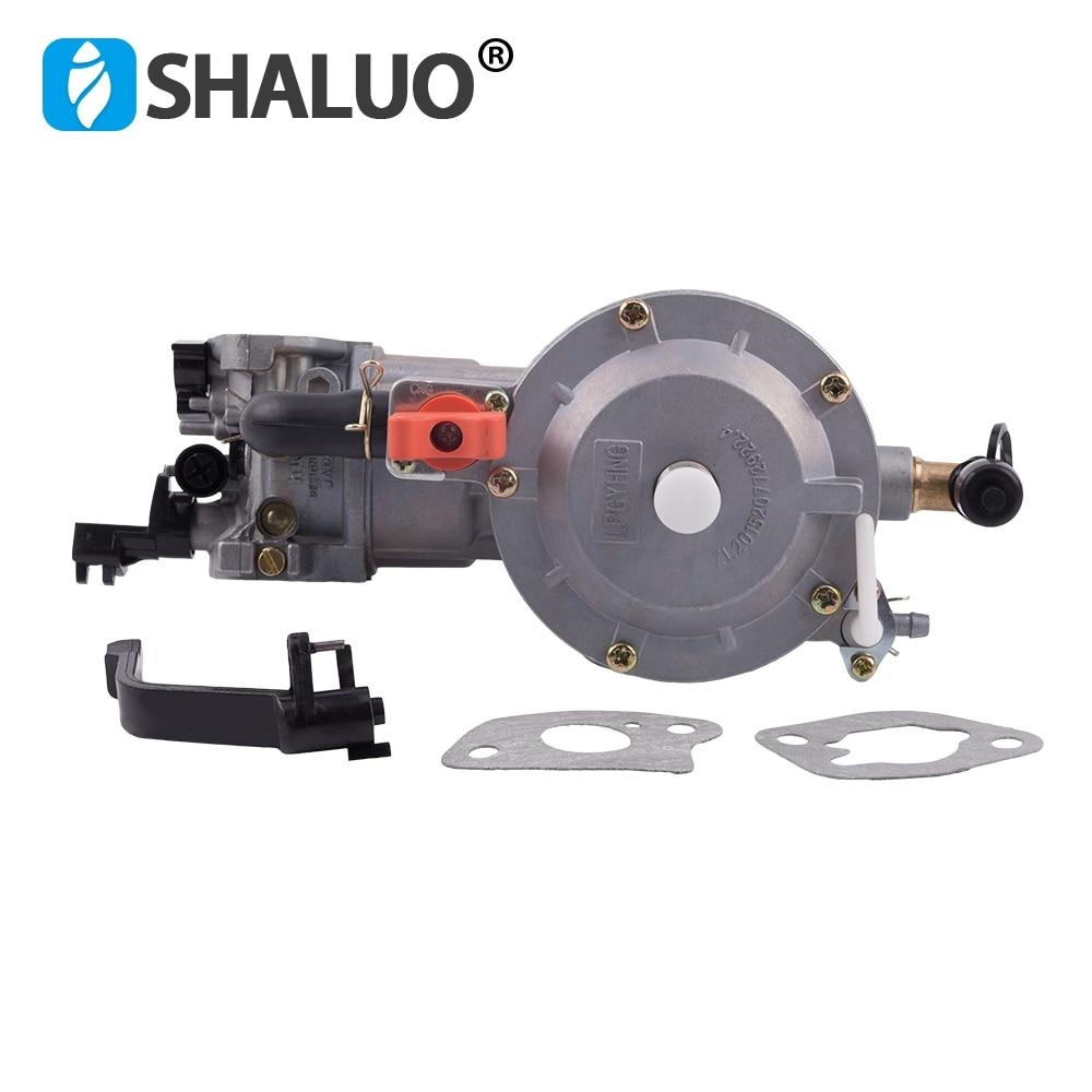 Hohe qualität LPG Vergaser 168 dual kraftstoff LPG NG conversion kit für 2KW 3KW 168F 170F Benzin Generator Dual Kraftstoff vergaser