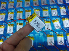Bateria de Polímero Personalizado por Atacado de Lítio 3.7 V 402030 042030 200 MAH Pode SER CE FCC Rohs Msds Certificação Qualidade