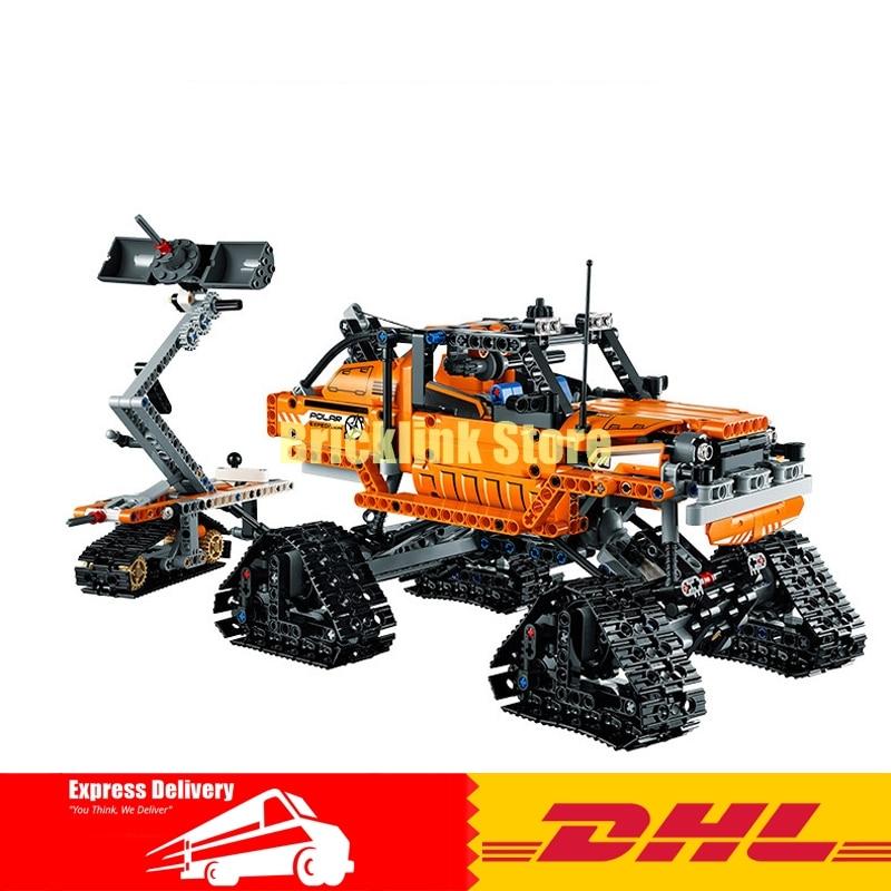 2017 Lepin 20012 Technic Series Mechanical Group The Polar Adventure Vehicle Building Blocks Bricks Toys Gifts Clone 42038 лестница шток 20002 26м 20012