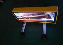 Электрические знаки P5 Такси Верхний СВЕТОДИОДНЫЙ Знак открыть размер 960×320 мм) окна автомобиля светодиодных вывесок