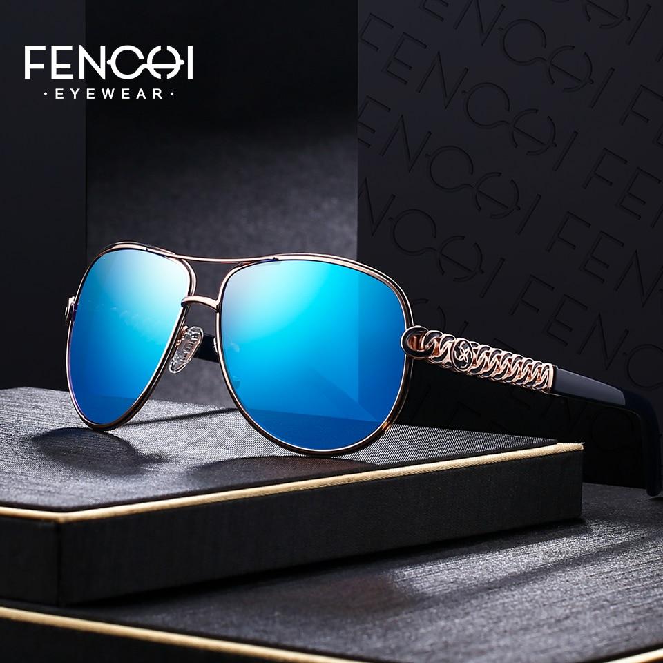 f256a1605c FENCHI Sunglasses Women Driving Pilot Classic Fashion Sunglasses High  Quality Temple Metal Designer Sun Glasses -in Sunglasses from Apparel  Accessories on ...