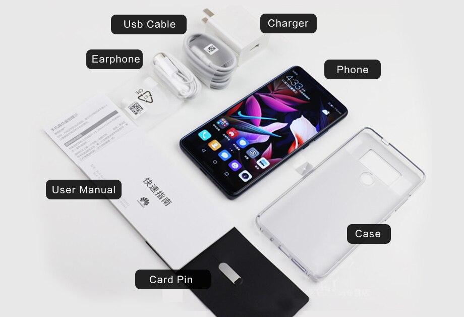 Original Huawei Mate 10 Pro Smartphone 6 0 inch Kirin 970 Octa Core Android  8 0 Dual Rear 20MP+12MP 4000mAh Fingerprint NFC