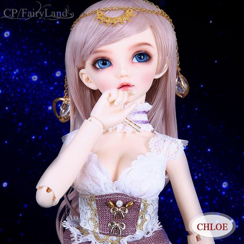 BJD Doll 1/4 Minifee Chloe Sarang Celine luts fairyline delf bluefairy littlemonica jiont dolls toys sd elf Oueneifs Fairyland кукла bjd fl fairyland feeple moe60 celine bjd sd doll soom luts