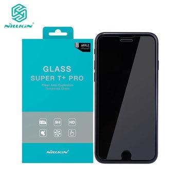 20aac7c8d4f La sfor iPhone 8 Plus de Nillkin T + Pro 0,15 MM de vidrio templado  Protector de pantalla para iPhone 6 S 6 7 8 Plus