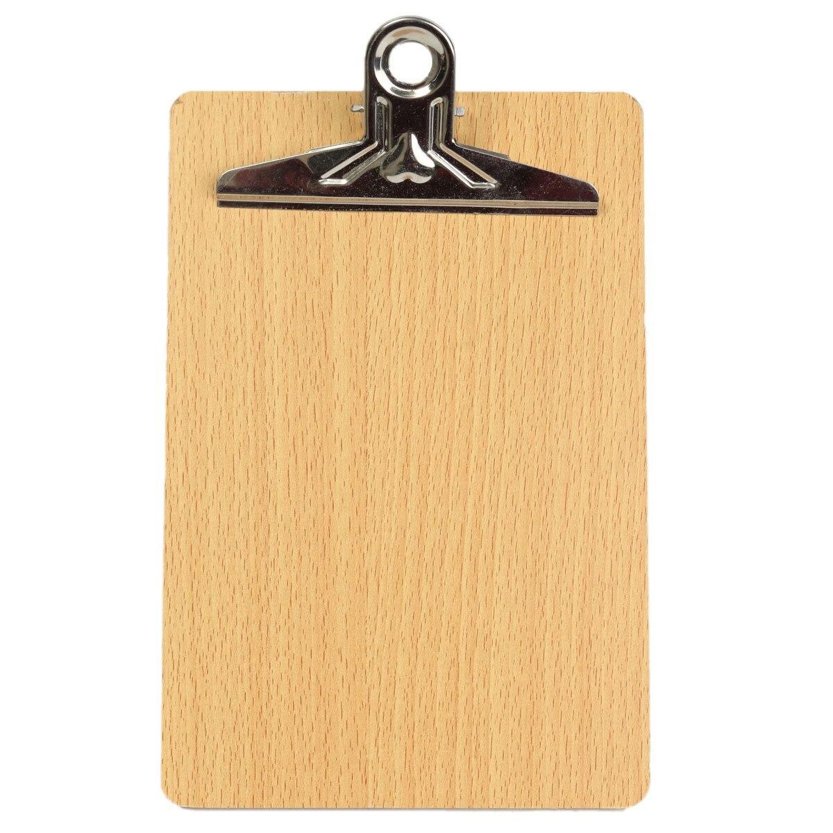 Προϊόν 10pcs set overvalue best promotion wooden clipboard a5