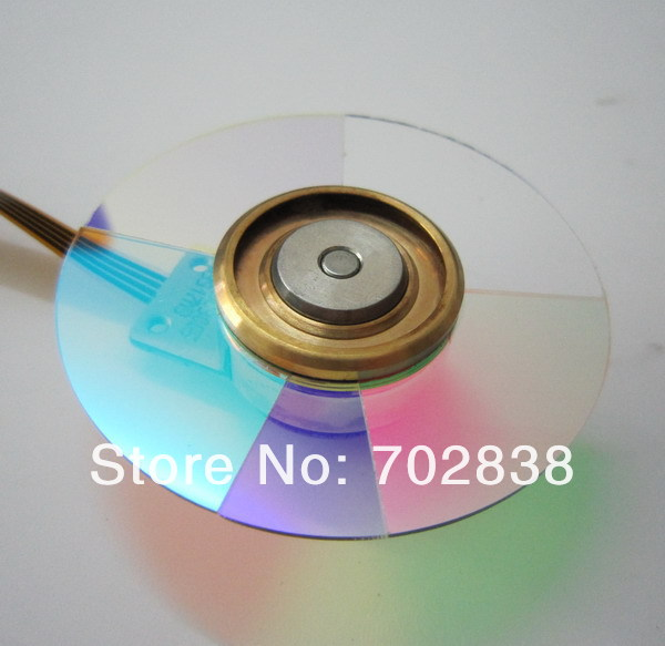 Projector Color Wheel for Viewsonic D825SM new original projector color wheel for viewsonic pjd6240 color wheel