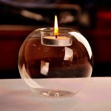 Портативный Лидер продаж классический хрустальный стеклянный подсвечник свадебный бар вечерние декоративный подсвечник для дома#80847