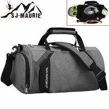 8f5d51311c1 SJ-Maurie Sport Mannen Gym Bag Sack Training Tas Waterdichte Basketbal Fitness  Outdoor Sport Tassen voor Reizen met Schoenen ops.
