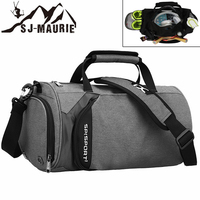 SJ Maurie Sport Men Gym Bag Sack Training Bag Waterproof Basketball Fitness Outdoor Sport Bags for Traveling with Shoes Storage