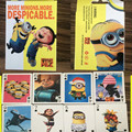 54 pcs/set Minions Figures Collection Poker Cards Despicable Me Minion Playing Cards Color Box Packing Kid Gift Toy