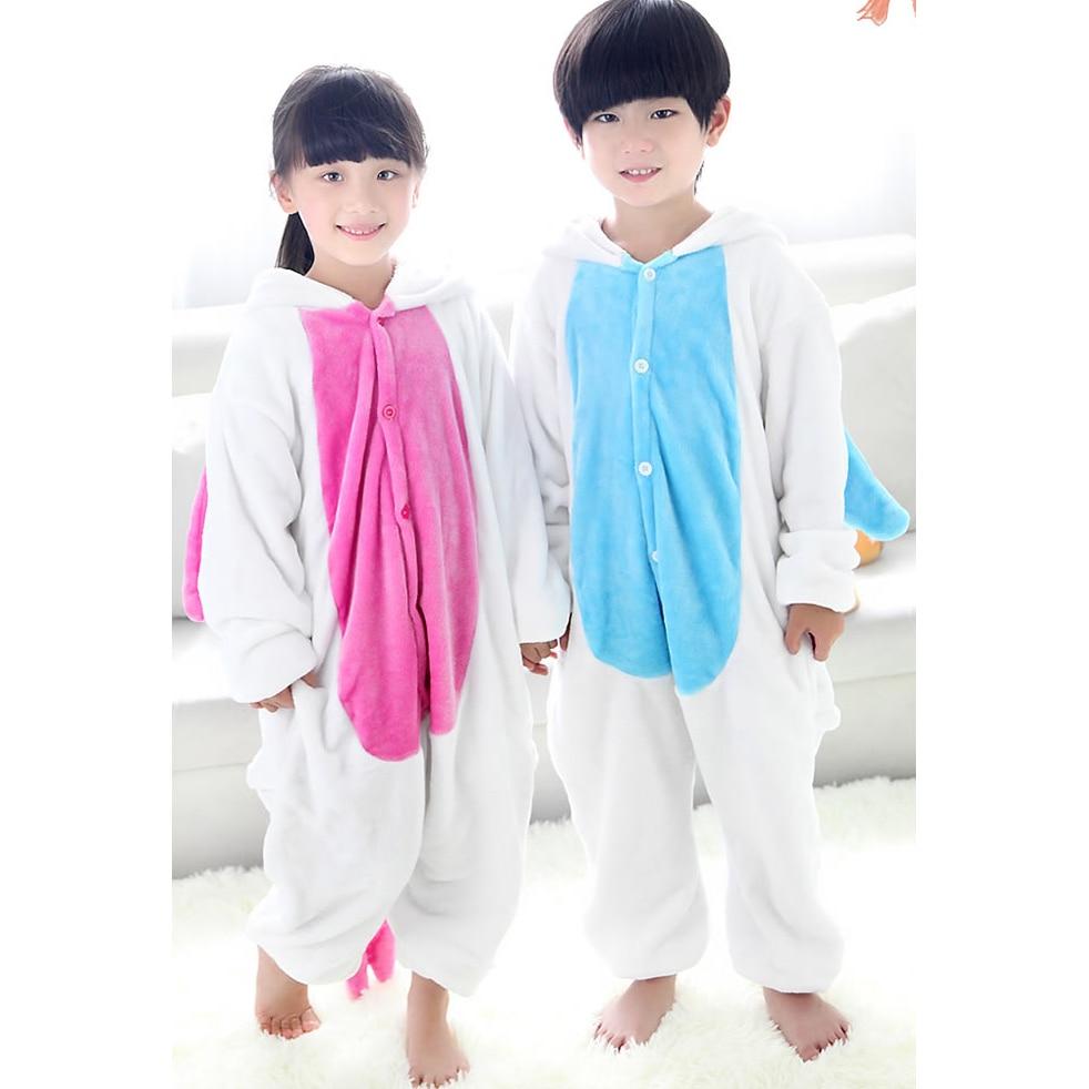 Kids Pyjama Sets Eenhoorn Flanel Kinderen Nachtkleding Cartoon Dieren - Kinderkleding - Foto 2