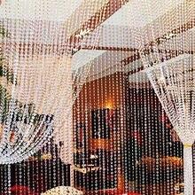 30 метров прозрачные бусины из пластичного полимера занавеска