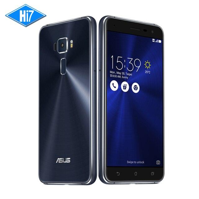 Новый Asus ZenFone 3 ZE552KL 64 Г ROM 4 Г ОПЕРАТИВНОЙ ПАМЯТИ мобильного телефона Android 6.0 Qualcomm Octa Ядро 2.5D гориллы стекло 1080 P 5.5 ''16.0MP