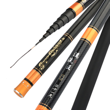 Fishing Rod Carp Carbon Ultra-light Braided Hand Pole SuperHard 3.6M,4.5M,5.4M,6.3M,7.2M 28 Tonal