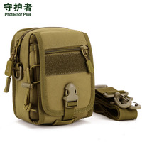 2017 New Men Waterproof 1000D Nylon Military Travel Riding Cell Phone Shoulder Messenger Pouch Purse Belt