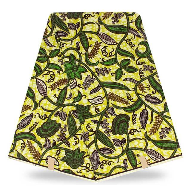 tissu africain colore