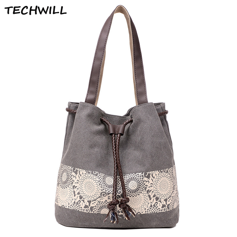 Canvas Handbags Large Female Shoulder Tote Bag Ladies Clutch Top-Handle Bags Purses Bolsa Feminina