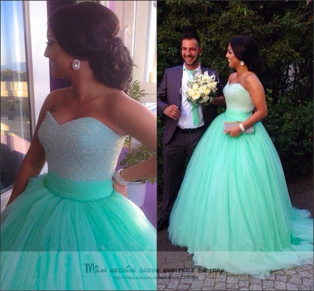 Popular Long Green Prom Dresses-Buy Cheap Long Green Prom Dresses ...